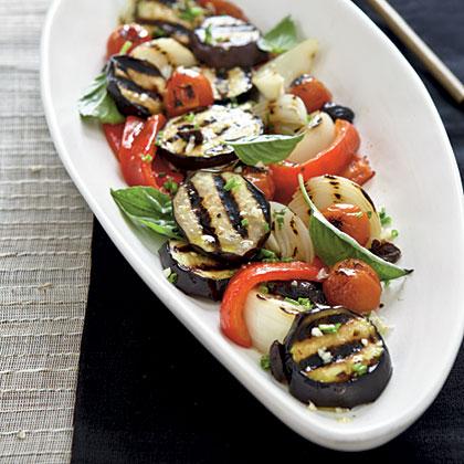 Charred Vegetable SaladRecipe