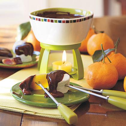 Chocolate-Chipotle Fondue