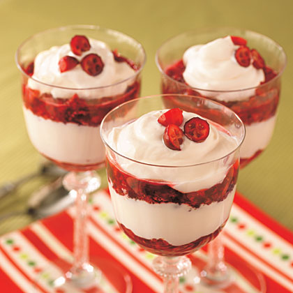 Cranberry Parfaits Recipe