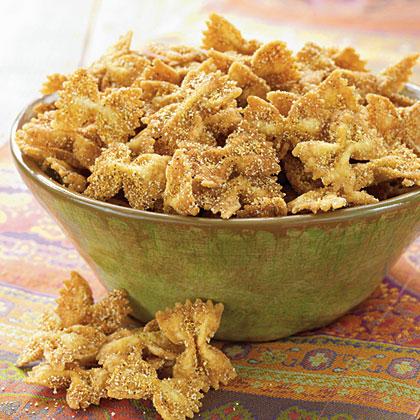 Creole Fried Bow-TiesRecipe