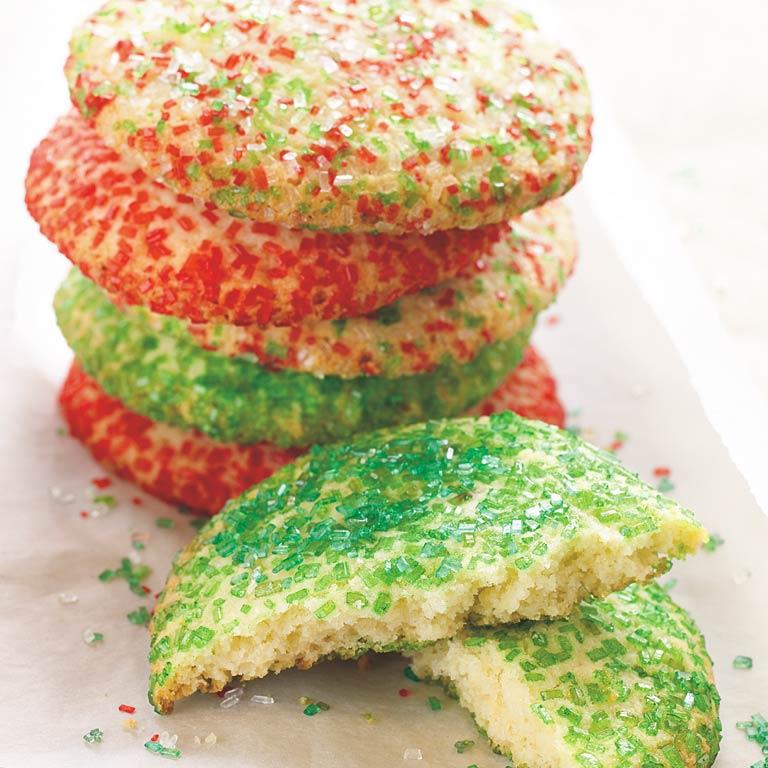 Big Crunchy Sugar Cookies