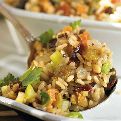 Fruit and Nut Rice Pilaf
