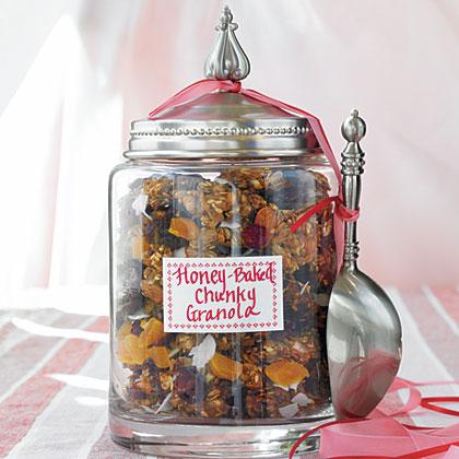 Honey-Baked Chunky Granola Recipe