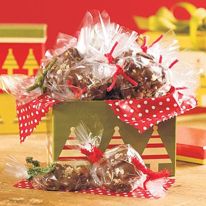 Smoked Sea Salt Chocolate-Covered Turtles