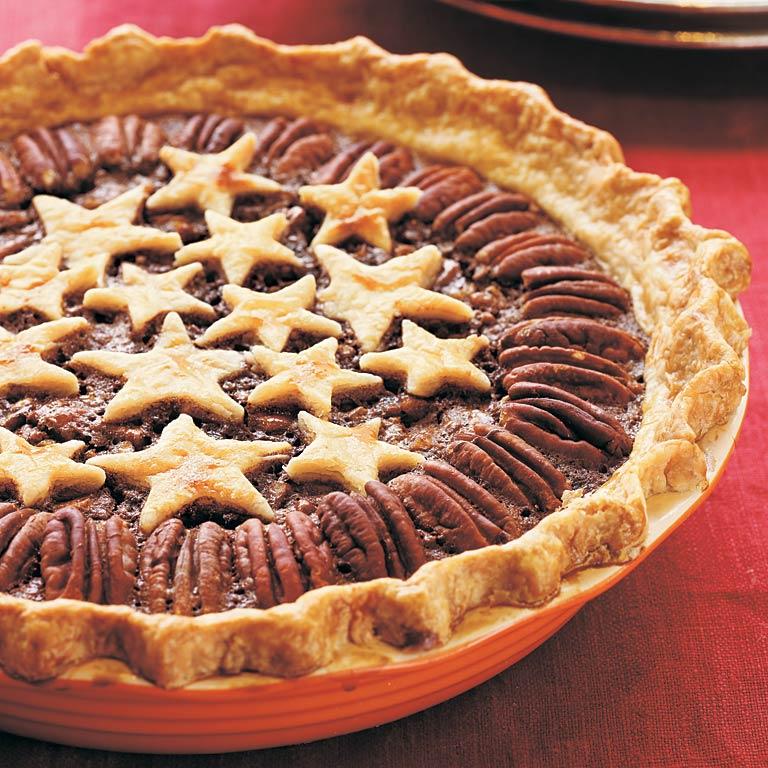 Star Pecan Pie
