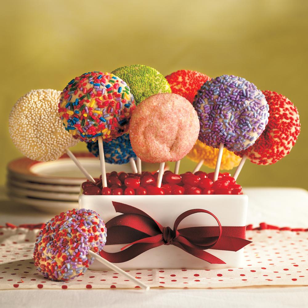 Sugar Cookie Pops