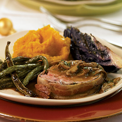 Bacon-Wrapped Beef Tenderloin with Madeira