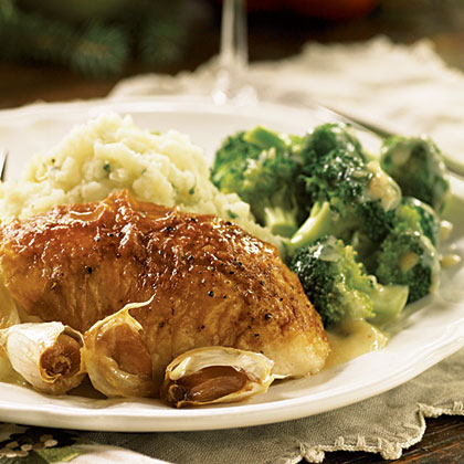 Broccoli with Balsamic Butter