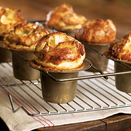 Blue Cheese Yorkshire Puddings