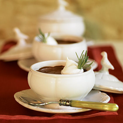 Chocolate-Espresso Pots de Crème Recipe