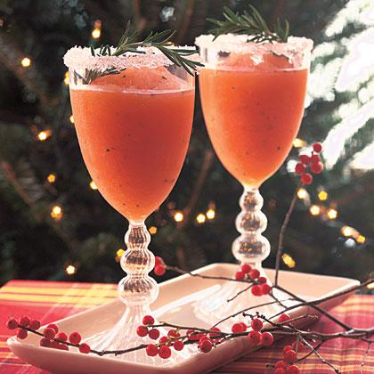 Grapefruit-Rosemary Daiquiris