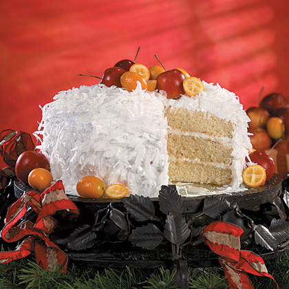 Hazel's Fresh Coconut Cake