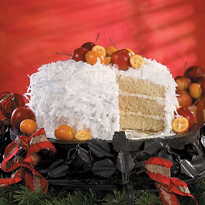 Hazel's Fresh Coconut Cake