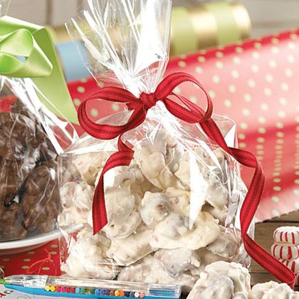 White Chocolate-Peppermint Jumbles