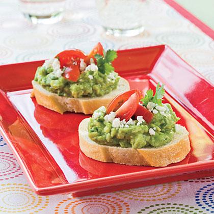 Zesty Guacamole Bites