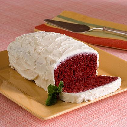 Red Velvet Loaf Cakes