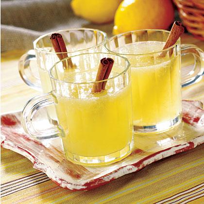 Warm Homemade Lemonade