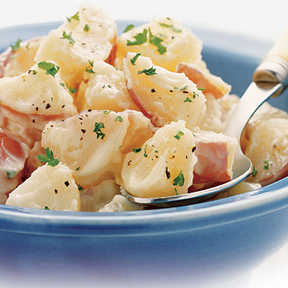 Hellmann's Mayonnaise 1-2-3 Savory Potato Salad with Real Mayonnaise Recipe