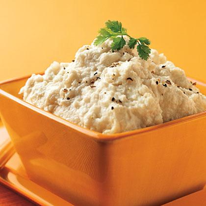 Hellmann's Mayonnaise Creamy Mashed Cauliflower Recipe