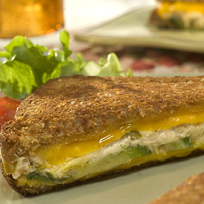 Hellmann's Mayonnaise Avocado Tuna Melts Recipe