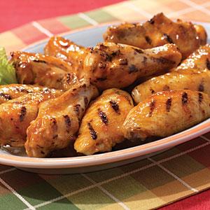 Hellmann's Mayonnaise Bourbon Chicken Wings Recipe