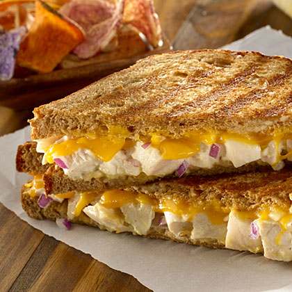 Hellmann's Mayonnaise Chicken Salad Panini Recipe