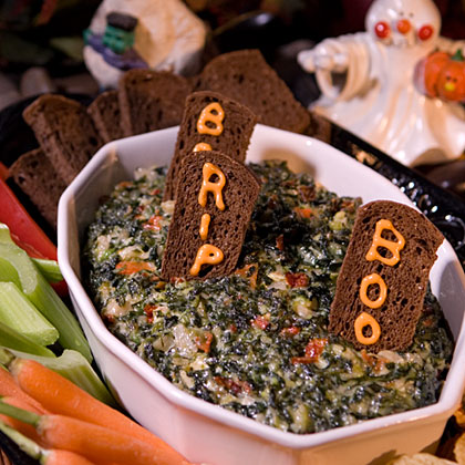 Hellmann's Mayonnaise Graveyard Spinach Dip Recipe