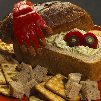 Hellmann's Mayonnaise Halloween Coffin Dip Recipe
