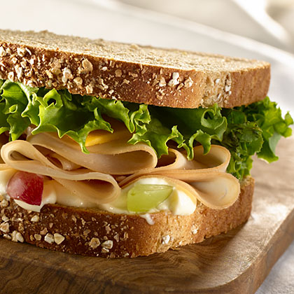 Hellmann's Mayonnaise Honey Roasted Turkey Sandwich Recipe