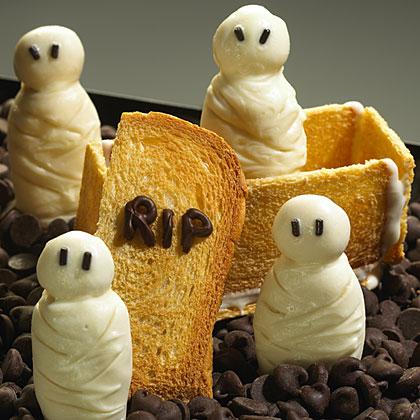 Hellmann's Mayonnaise Mummy Cookies Recipe