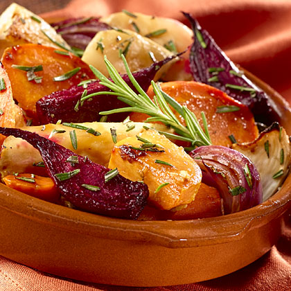 Hellmann's Mayonnaise Oven-Roasted Root Vegetables Recipe