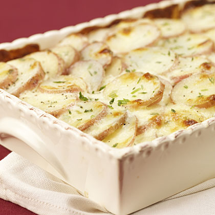 Hellmann's Mayonnaise Parmesan Chive Potato Bake Recipe