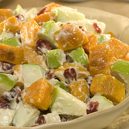 Hellmann's Mayonnaise Roasted Sweet Potato Salad RecipeRecipe
