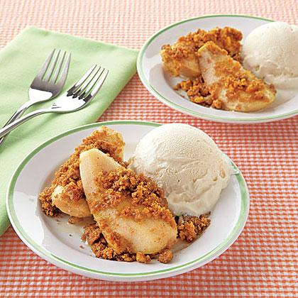 Honey-Baked PearsRecipe