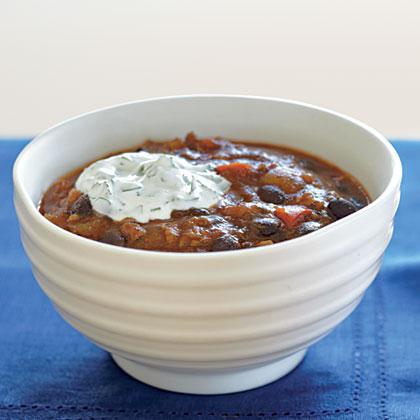 Black Bean-Salsa ChiliRecipe