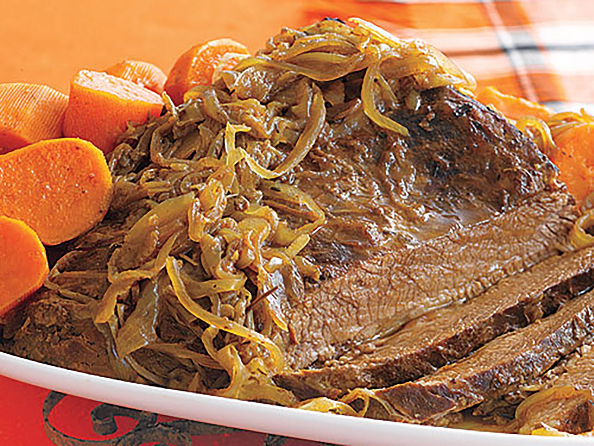 Braised Brisket with Sweet Potatoes