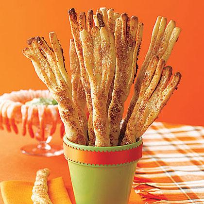 Parmesan Breadstick Broomsticks