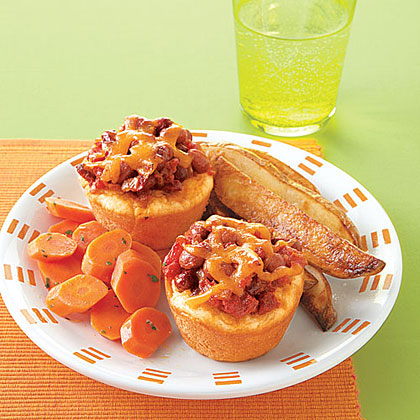 Chili-Cheese Biscuit Pies Recipe