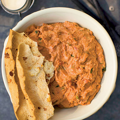 Roasted Garlic and Sun-dried Tomato Cheese Spread (Ossabaw Dip)