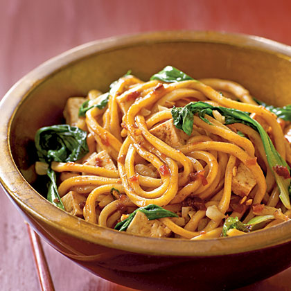 Spicy Malaysian-Style Stir-Fried Noodles Recipe