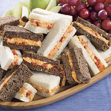 5 Dainty Finger Sandwiches