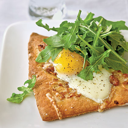 Sausage and Egg Flatbread