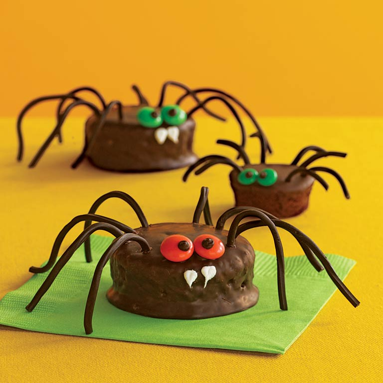 Scary Spiders Recipe