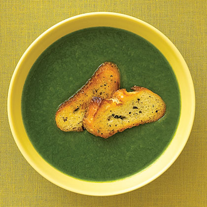 Spinach, Leek, and Potato Soup Recipe