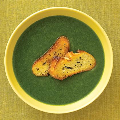 Spinach, Leek, and Potato Soup Recipe