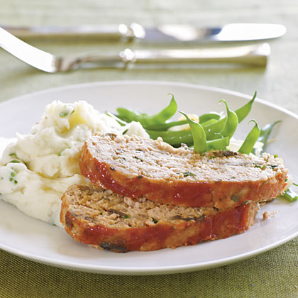<p>Spicy Turkey Meat Loaf with Ketchup Topping</p>