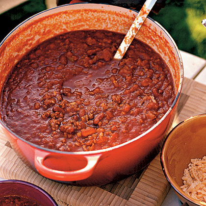 Christine's Vegetarian Chili Recipe