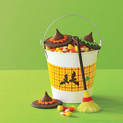 Witch Hats and BroomsticksRecipe