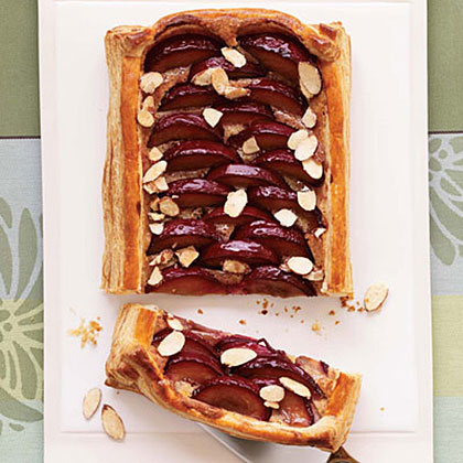 Almond-Plum Tart Recipe