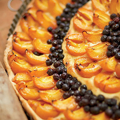 Apricot-and-Blueberry Tart Recipe